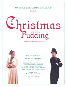 Pudding - poster