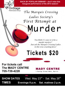 The Marquis Crossing Ladies Society's First Attempt at Murder